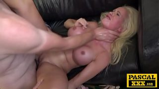Blonde Finnish Bimbo Abused and Ass-fucked – Cindy Sun, Pascal White
