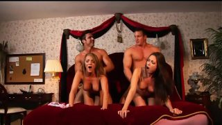 Charlie Laine and Melissa Jacobs fuck Frankie Cullen and TJ Cummings