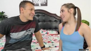 Hyden Hennessy is a hot brunette that lets her stepdaddy creampie