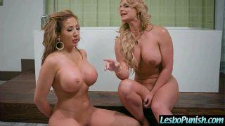 Lez Girl (Phoenix Marie & Richelle Ryan) Get Sex Toys Punish By Mean Lesbian mov-23