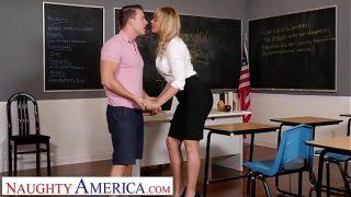 Naughty America – Dana DeArmond teaches her student to EAT ASS