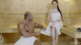 RELAXXXED – Hard fuck at the sauna with attractive Russian babe Angel Rush