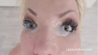 She is a Monster! Barbie Sins goes all in, Balls deep DAP, TP, TAP, QUAP GIO986
