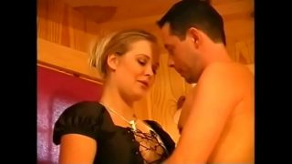 Two couples have groupsex in hot film with Dina Jewel